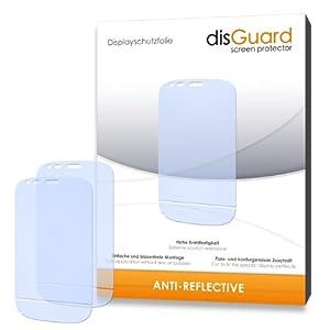 2 x disGuard Anti-Reflective Screen Protector for Doro Liberto 810 - PREMIUM QUALITY (non-reflecting, hard-coated, bubble free application)
