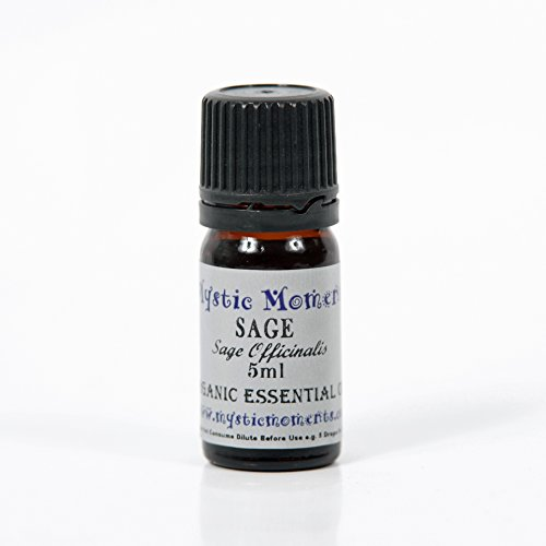 Sage Organic Essential Oil 100% Pure - 5ml