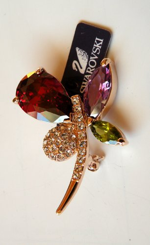 Austrian Swarovski Crystal Fashion Lady Pin Brooch -Beautiful and The Highest Quality Austrian Crystal with Elegant Flower Design 5.0cm W x 3.0 cm H Comes With Free Swarovski Jewelry Box,Attractive and Gorgeous . Super Saving w/100% Satisfaction Guaranteed ! A Great Gift For Your Friends or Loved Ones.