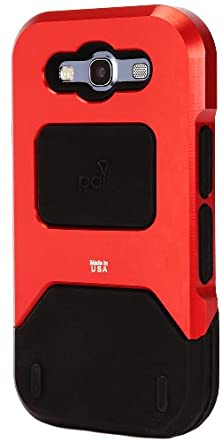 buy Pai Products Titan Protective Case For Samsung S3 - Retail Packaging - Red
