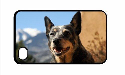 Australian Cattle DOG IPHONE 5, colore: nero, 17 cm