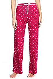 Heart Print Pyjama Bottoms [T37-5648-S]