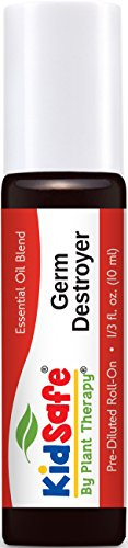 KidSafe Germ Destroyer Synergy Pre-Diluted Essential Oil Roll-On 10 ml (1/3 fl oz). Ready to use!