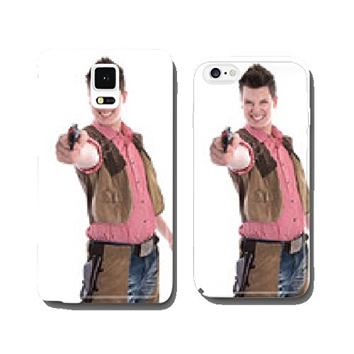 Cowboy - Kostm fr den Karneval oder Fasching cell phone cover case iPhone6 (Fasching Costume)