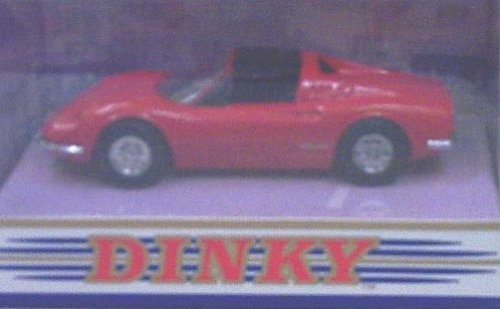 Dinky Dy-24 1973 Ferrari Dino 246 Gts - Red front-710697