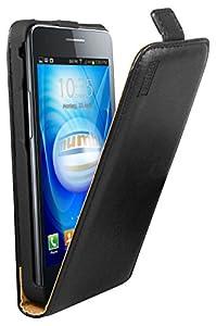 mumbi PREMIUM Leder Flip Case Samsung i9100 Galaxy S II Tasche Hülle - Ledertasche Galaxy S2 S 2 SII Schutzhülle