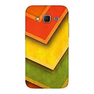 Premium Multicolor Merge Back Case Cover for Galaxy Core Prime
