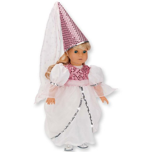 Beautiful Princess Gown 18 Inch Doll Dress 2 Pc. Set Fits 18 inch dolls
