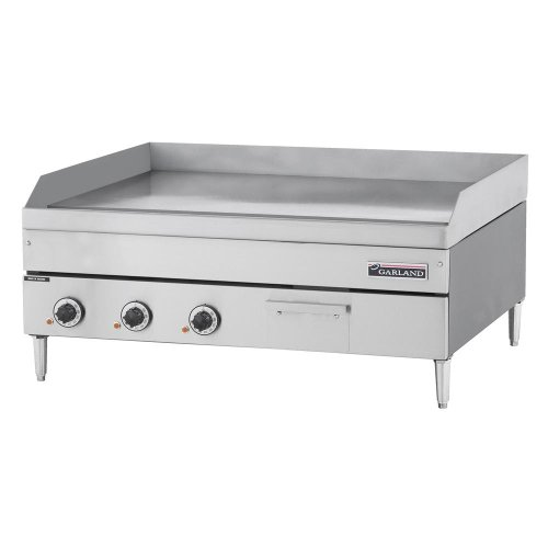 "208V 3 Phase Garland E24-72G 72"" Heavy Duty Electric Countertop Griddle"