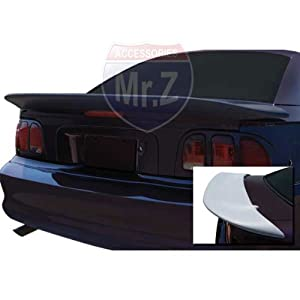 Amazon.com: 1994-1998 Ford Mustang Custom Spoiler Saleen Whale Tail