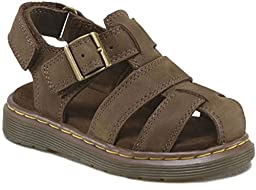 Dr. Martens Baby Boy\'s Moby Brown Sandals 4 M UK, 5 M