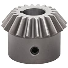 Boston Gear HL153YP Bevel Gear, 1.5:1 Ratio, 0.750&#034; Bore, 10 Pitch, 20 Teeth, Steel