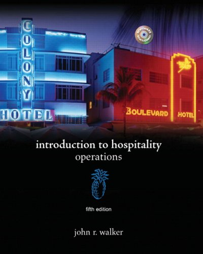 Introduction to Hospitality (5th Edition)