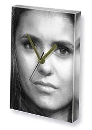 NINA DOBREV - Canvas Clock (LARGE A3 - Signed by the Artist) #js005
