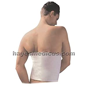 Thermal Pull-On Back Belt (Kidney Warmer, Hernia Support) - Size Small
