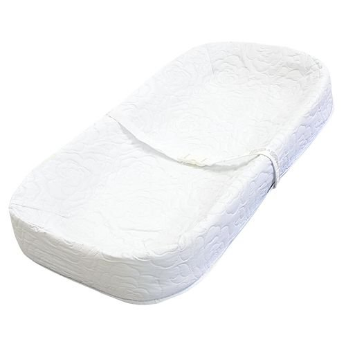 "LA Baby 4 Sided Changing Pad 30"", White"