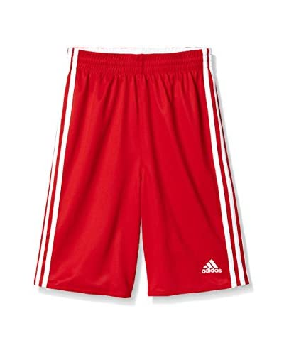 adidas Shorts Y Team Rev Sho rot/weiß