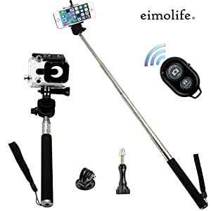 eimolife classic self portrait self shot monopod selfie stick with phone holder for samsung. Black Bedroom Furniture Sets. Home Design Ideas