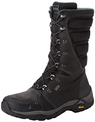 Ahnu Women's Northridge Snow Boot,Black,11 M US