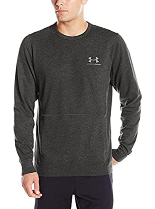 Under Armour Sudadera Triblend Crew (Gris Oscuro)