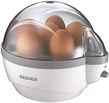 Comprar Severin 3051 - Cuece Huevos 400 W Blanco Trasparente