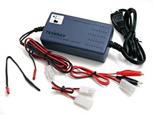 Tenergy Smart Universal Charger for NiMH / NiCd Battery pack 7.2V - 12V with charging current Selection/Temperature Sensor