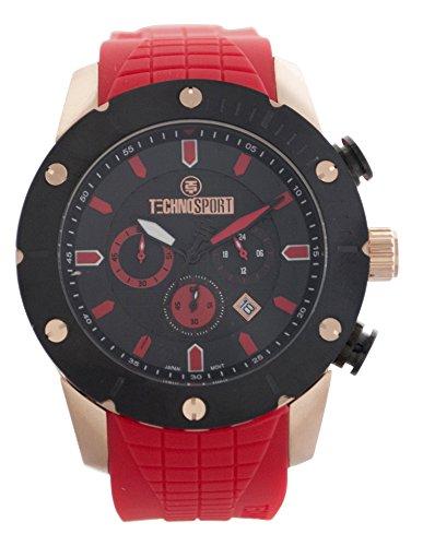 technosport-ts-700-3-rojo-banda-de-silicona-reloj-unisex-color-negro-bisel-y-dial-con-detalles-rojo