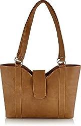 Svaan Women's Handbag (Beige) (SBG012H)