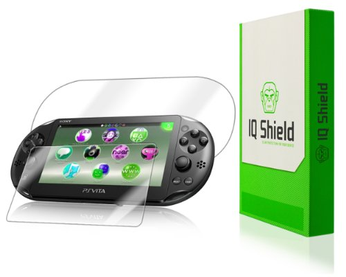 Iq Shield Liquidskin - Sony Ps Vita Screen Protector + Full Body (Front And Back) - High Definition (Hd) Ultra Clear Console Smart Film - Premium Protective Screen Guard - Extremely Smooth / Self-Healing / Bubble-Free Shield - Kit Comes With Retail Packag