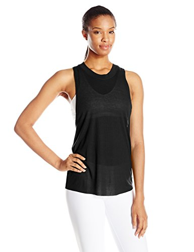 Alo Yoga Women's Heat Wave Tank, Black, Small (Alo Tank Top compare prices)