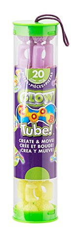 ZOOB Tube 20-Piece Modeling System in Glow Pastels - 1