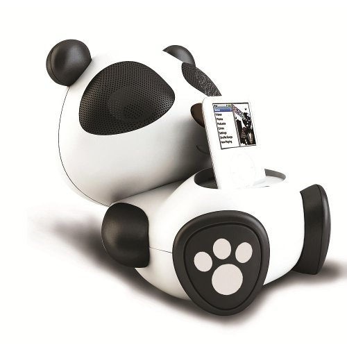 Electric Friends Sing Sing Panda Speaker Docking Station For Ipod And Iphone