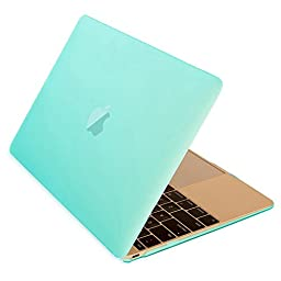 Macbook 12 Retina Case,ACCUCASE(TM) 12-inch Macbook Retina case,Ultra Slim Rubberized Hard Case Light Weight Matte Cover for MacBook 12-inch (2015) Green