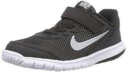 Nike Kids Flex Experience 4 (PSV) Black/Mtllc Dark Grey/Anthracite/White Running Shoe 12.5 Kids US