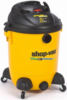 Shop-Vac 9689400 Ultra Pro Series Wet-Dry Pump Vacuum, 5.5 Peak HP, 14-Gal.