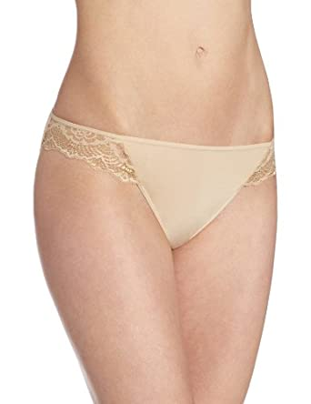 Vanity Fair Women's Light and Luxurious Bikini Panty 18143 - Damask Neutral - 5