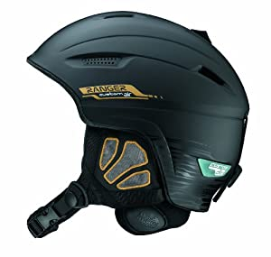 Salomon Ranger Custom Air Ski Helmet (Black Matt, X-Small)