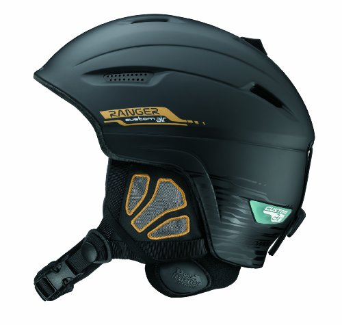 SALOMON Herren Skihelm Ranger Custom Air, black matt, 58-59, 10940859