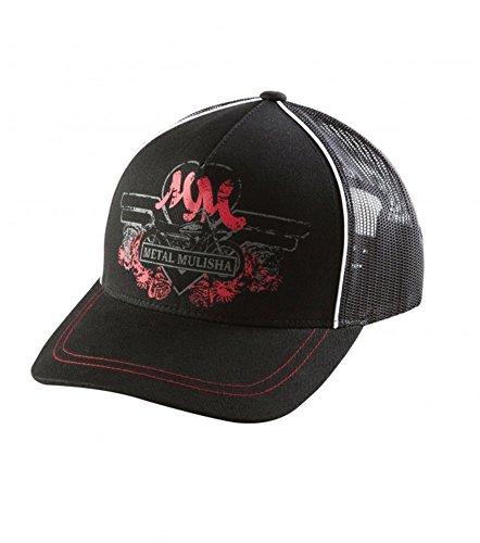 Metal Mulisha Juniors Biker Babe Hat, Black, One Size
