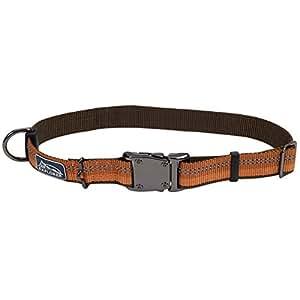 Coastal Pet Products DCP36922COG K9 Explorer 1-Inch Dog Collar, Medium, Orange