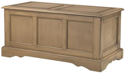 Cameron Bench / blanket Chest, 18″Hx39″Wx19″D, HERITAGE OAK