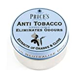 Price's Odour Elimination Anti Tobacco Candle Tin