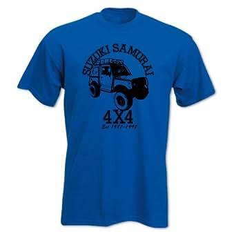 Petrolhead Off Road Classic Suzuki Samurai 4X4 4Wd T-Shirt: Clothing