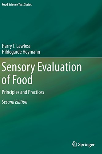 Sensory Evaluation of Food: Principles and Practices...