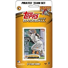 Buy 2012 Topps Pittsburgh Pirates Team Set In Storage Album (Team Edition) - 17 Cards by 2012 Topps