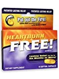 Enzymatic Therapy HeartBurn Free, 10 Caps 1000 MG