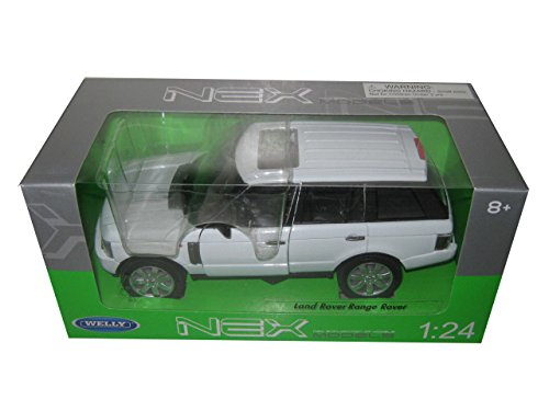 2003 Land Rover Range Rover White 1/24 by Welly 22415 (White Range Rover compare prices)