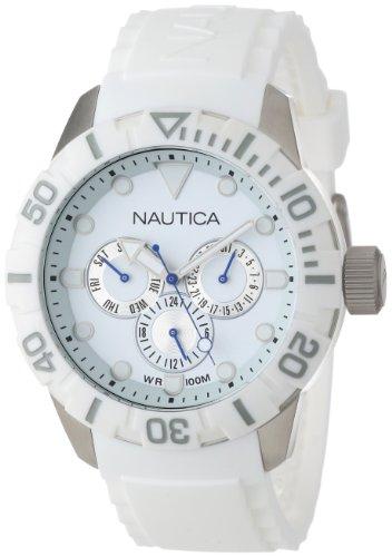 Nautica Mixte N13639G NSR 101 Multi- South Beach Classique Analogique Avec Enamel Couronne Montre