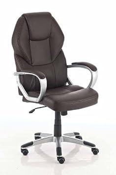 Luxus bürostuhl  CLP Chefsessel NEVADA, höhenverstellbarer LUXUS Bürostuhl mit ...