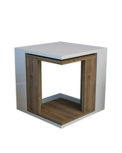 The furniture project Mesa Auxiliar Cubic